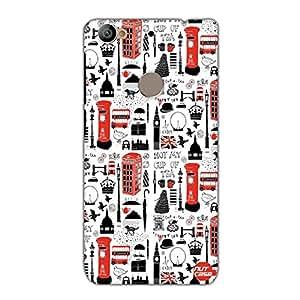 Designer Le Eco 1s Case Cover Nutcase-I Love London City