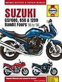 Haynes Manual 3367 Suzuki GSF600;650 & 1200 Bandit 95-06+T11449