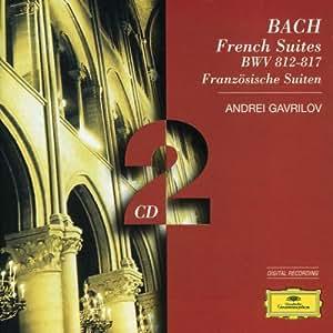 Johann Sebastian Bach : Suites Françaises BVV 812-817