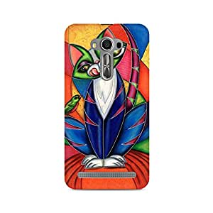 Mobicture Coloured Pattern Premium Printed Case For Asus Zenfone Selfie