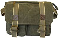 Classic Green Messenger Bag
