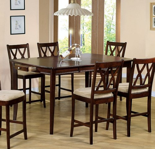 Buy Low Price Coaster Cherry Finish Solid Wood Counter  : 51VTjZndahLSL500 from www.diningfurnituremart.com size 500 x 481 jpeg 59kB