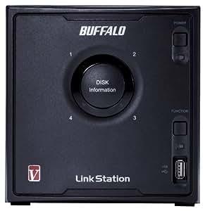 Buffalo Technology LinkStation Pro Quad LS-QV16TL/R5 NAS-Server bis 16TB (4-Bay, 1x RJ-45, USB 2.0)