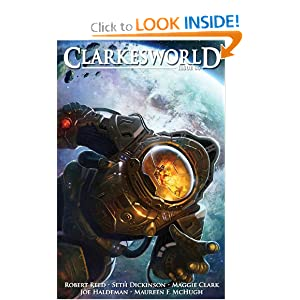 Clarkesworld Issue 86 by Robert Reed, Neil Clarke, Seth Dickinson and Maggie Clark