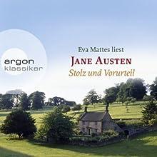 Stolz und Vorurteil Hörbuch von Jane Austen Gesprochen von: Eva Mattes