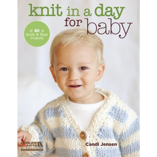 Leisure Arts - Knit In A Day For Baby front-1027983