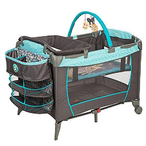Disney Baby, Infant Play Yard, Play Pen With Changing Station (Geo Pooh) (Winnie The Pooh Pack N Play compare prices)