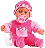 Bayer Design 93800-P - Babypuppe - First Words Baby, 38 cm, pink