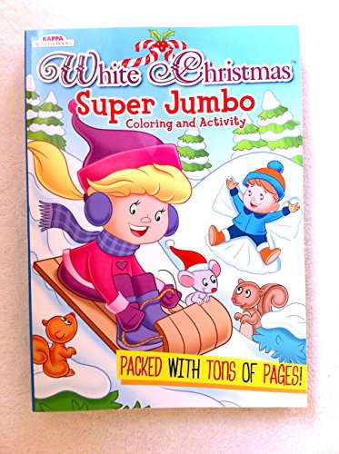 White Christmas Super Jumbo Coloring and Activity Book