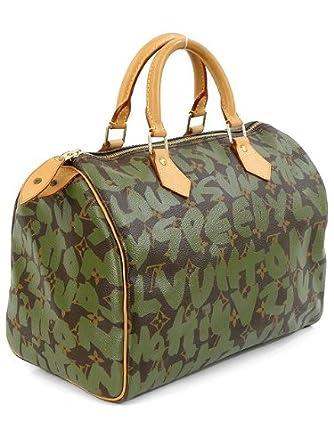 Louis Vuitton Handbag - Limited Edition Stephen Sprouse Khaki Graffiti