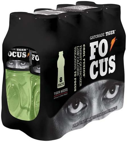 Gatorade Tiger Focus Cool Fusion 16.9 oz 8 ct - 3 Pack