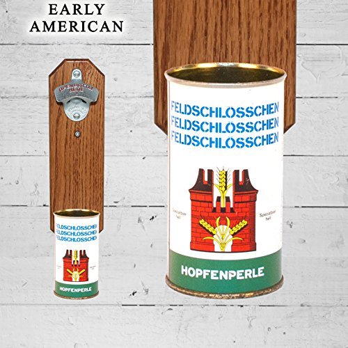 wall-mounted-bottle-opener-with-vintage-feldschlosschen-beer-can-cap-catcher