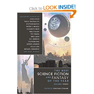 The Best Science Fiction and Fantasy of the Year, Vol. 3 by M. Rickert