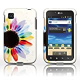 CoverON® Slim Hard Case for LG Optimus Dynamic II L39C with Cover Removal Tool - (Sunflower) by CoverON