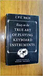 essay on the art of playing keyboard instruments