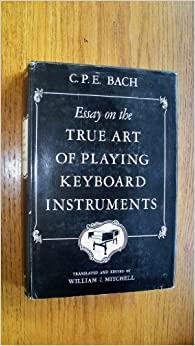 essays on bach Articles and essays featuring classical free-reed instruments and performers   i am reminded of the school that insists that bach's so- called piano works.