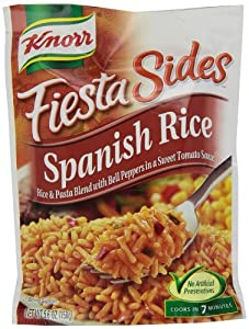 Knorr/Lipton Rice & Sauce, Spanish, 5.6-Ounce Packages (Pack of 12)