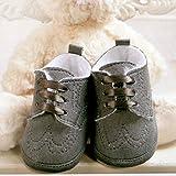Celebration Baby Boys Christening Gown Grey Graphite 2012 15 M