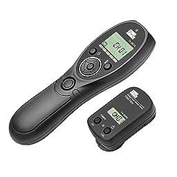 Pixel TW-282/DC0 Wireless Remote Shutter Release for Nikon D800series,D810series,D700,D200,D300series,D2series,D1series,D4,N90s,F5,F6,F100,F90,F90X,D3s,Fujifilm,S5Pro,S3Pro,Kodak,DCS-14n