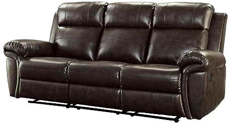 Coaster Home Furnishings 601041 Transitional Motion Sofa, Brown