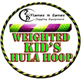 Kids Hula Hoop - Quality Weighted Children's Hula Hoops!(PY) Great For Exercise, Dance, Fitness & FUN! NO Instructions needed! SAME DAY DISPATCH!