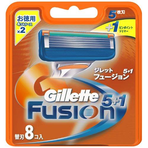 ジレット フュージョン5+1 専用替刃 8B
