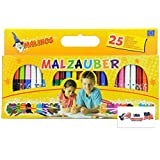 Malinos Magic Marker Set; Change Colors, Make Colors Disappear and Reappear