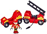 BRIO Rail Light and Sound Fire Engine