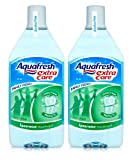 NEW 2 X AQUAFRESH EXTRA CARE MOUTHWASH SPEARMINT 250ml - STRENGTHENS & PROTECT