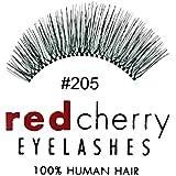 Red Cherry - Falsche Wimpern Nr. 205 - Echthaar