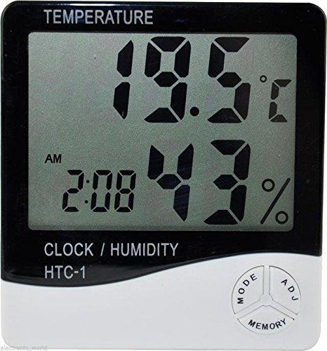 BuyinCoins, Thermometer Feuchtigkeitsmesser mit Digitaler LCD Anzeige
