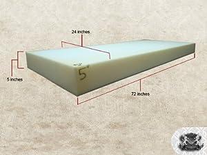 """Foam Sheet 5"""" x 24"""" x 72"""""""