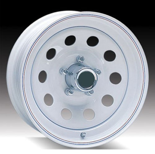 51VUClZ6TCL 13 x 4.5 White Painted Modular Steel Trailer Wheel 5x4.5 No