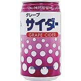 神戸居留地 グレープサイダー缶 350ml×24本