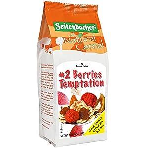 Seitenbacher Muesli #2 Berries Temptation with European Raspberries, Wheat Free, 16-Ounce Bags (Pack of 6)