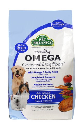 Pet Botanics Healthy Omega Dog Food - Chicken, 5-Pound