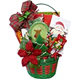 Tis The Season Christmas Holiday Cookie and Candy Gift Basket