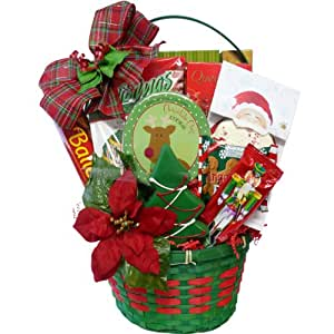 Art of Appreciation Gift Baskets Tis The Season Christmas Holiday Cookie and Candy Gift Basket