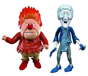 year without a santa claus heat miser snow miser 7 inch action figures set of 2. Black Bedroom Furniture Sets. Home Design Ideas