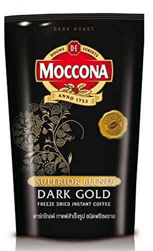 Moccona Coffee Superior Blend Dark Gold Freeze Dried Instant Coffee 4.23 Oz./120 Grams