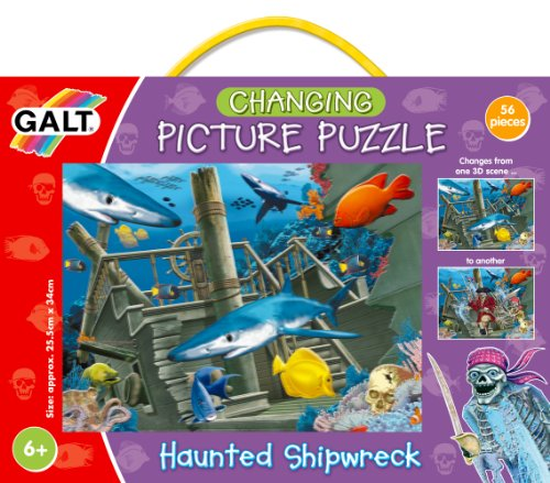 Galt Toys Inc 3D Changing Puzzle - Haunted Shipwreck - 1