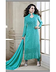 DivyaEmporio Women's Salwar Suit Dupatta Unstitched Dress Material (Free Size)