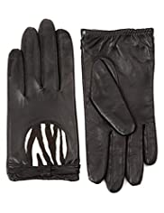 M&S Collection Leather Gloves [T01-1660-S]