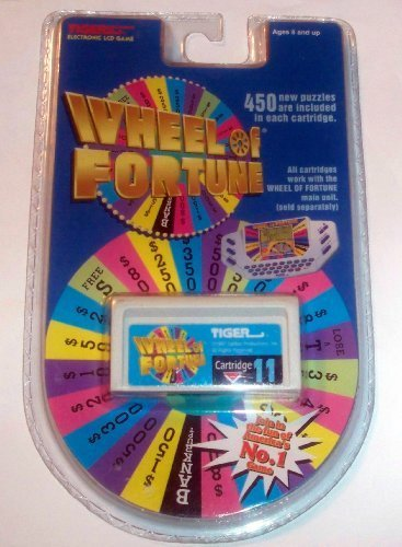 Wheel of Fortune Cartridge #11 for Tiger Electronics Electronic LCD Game - 1