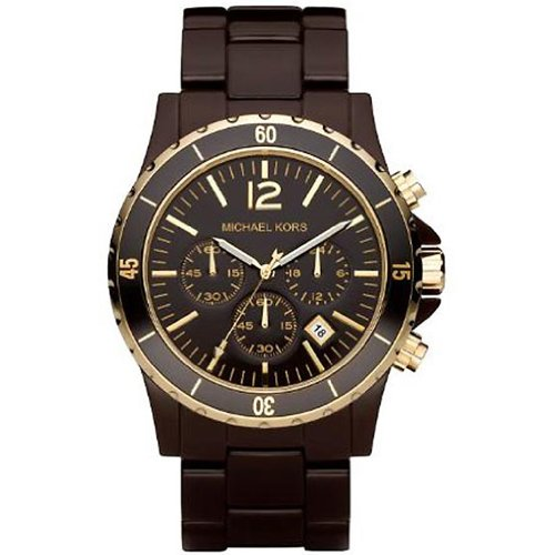 Michael Kors Men's MK5319 Chocolate Chronograph Madison Watch