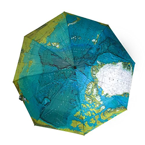 Unique umbrellas shopswell monkeybrother fashionable and elegant design world map style compact umbrella gumiabroncs Gallery
