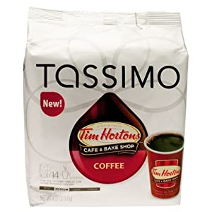 Tassimo Tim Hortons Coffee T Discs Bag, 17.32 Ounce from Tassimo