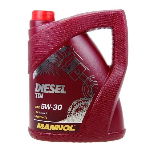 Mannol Motoröl 5L DIESEL TDI SAE 5W-30, API