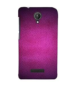 EPICCASE Purple spirals Mobile Back Case Cover For Micromax Canvas Spark Q380 (Designer Case)