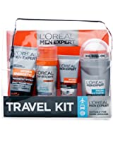 L'Oreal Men Expert by Paris 4 Piece Travel Kit Gift Set